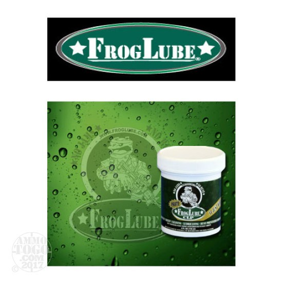 1 - FrogLube CLP Paste 4oz. Tub Lube, Cleaner, and Protectant