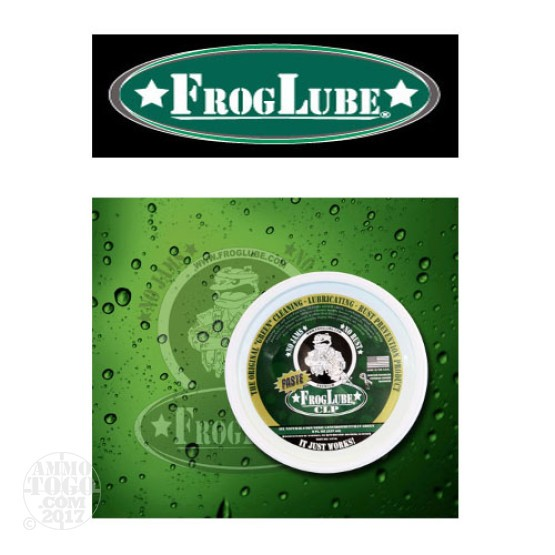 1 - FrogLube CLP Paste 8oz. Tub Lube, Cleaner, and Protectant