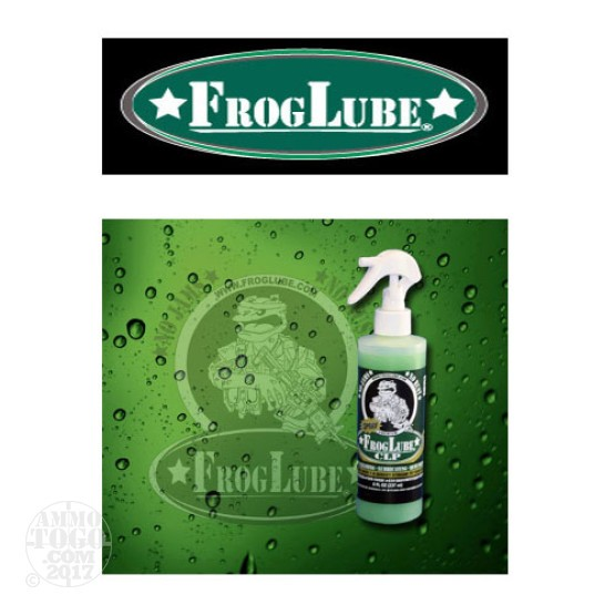 1 - FrogLube CLP Liquid 8oz. Bottle Lube, Cleaner, and Protectant