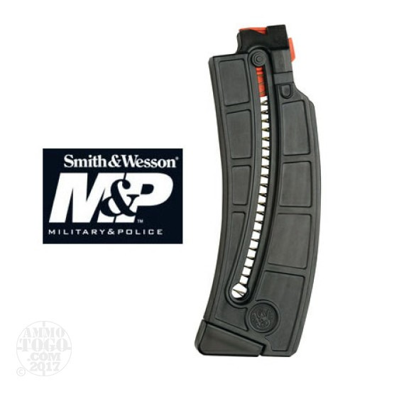 1 - Smith & Wesson M&P .22 LR 15-22 25rds. Polymer Magazine Black