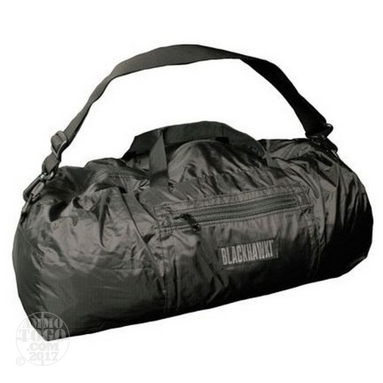 1 - Blackhawk Black Stash Away Duffel Bag