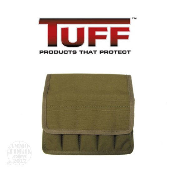 1 - Tuff 5 In Line Magazine Pouch Size 2 for 9mm/40/45 Double Stack Coyote Brown