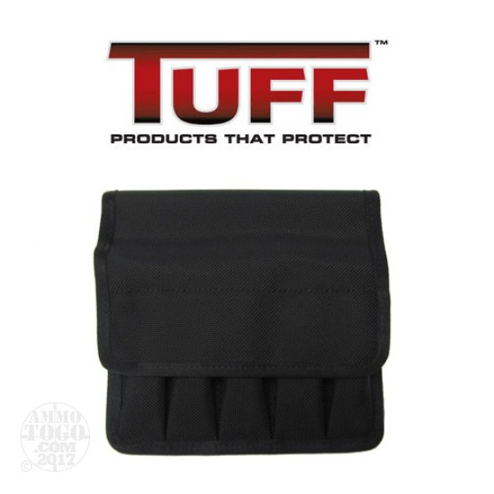 1 - Tuff 5 In Line Magazine Pouch Size 2 for 9mm/40/45 Double Stack Black