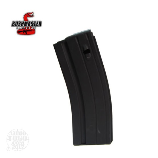 1 - Bushmaster 6.8 SPC Stainless Steel 26rd. Magazine Black Finish