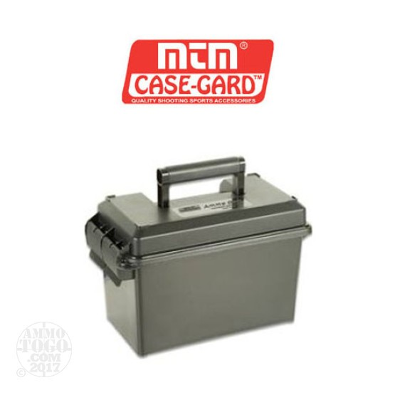 1 - MTM 50 Cal Size Ammo Can - Green w/ Desiccant