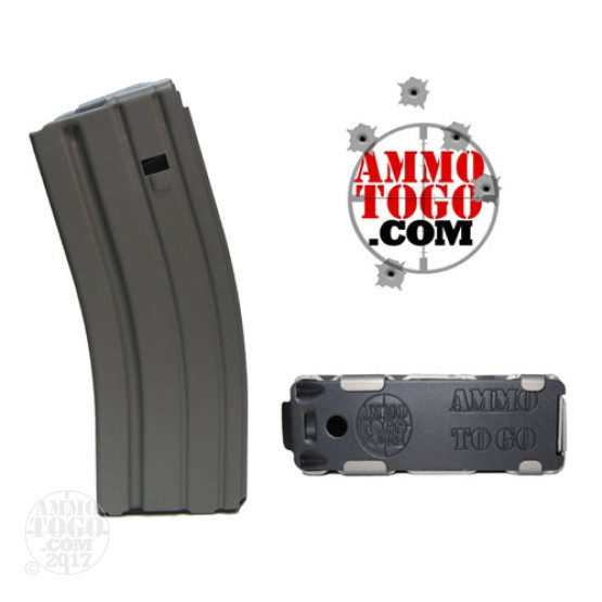 10 - Ammo To Go ASC AR-15 Aluminum 30rd. Magazine Gray Color