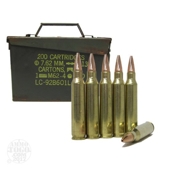500rds - .223 DRS 68gr. BTHP Match Ammo in Fair .30 Cal Ammo Can