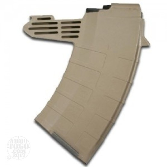1 - TAPCO SKS Detachable Dark Earth Polymer 20rd. Magazine