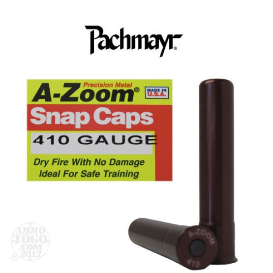 2rds - 410 Gauge Pachmayr A-Zoom Snap Caps