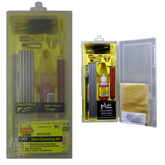 1 - Ammo To Go Universal .22 - 12 Gauge Box Cleaning Kit