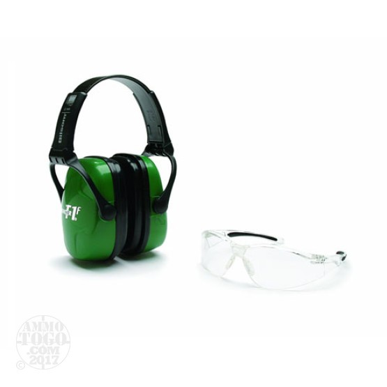 1 - Howard Leight Shooting Safety Combo Kit Green