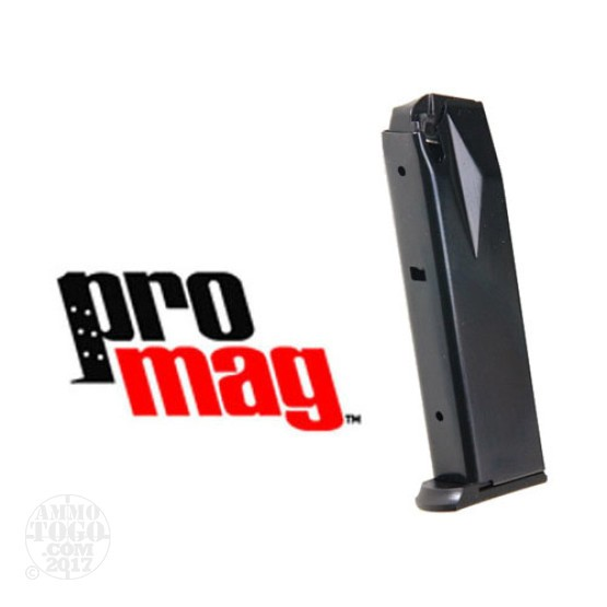 1 - ProMag 9mm Ruger P93 and P95 15rd. Magazine Black