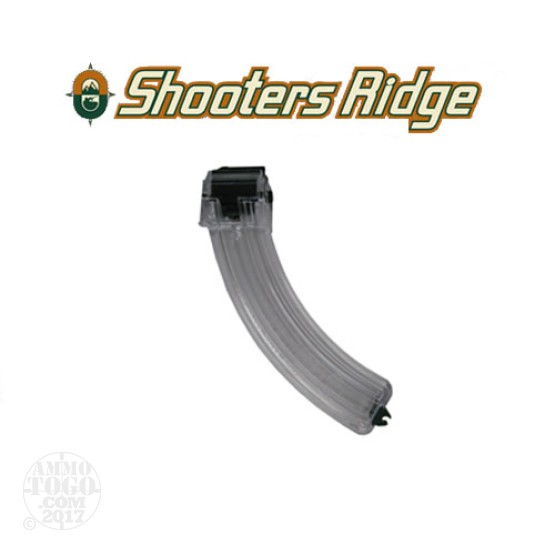 1 - Shooter's Ridge Ruger 22LR 10/22 25rd. Clear Polymer Magazine