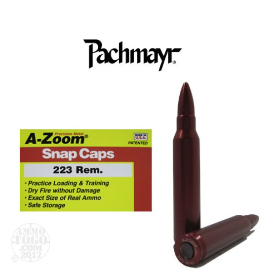 2rds - 223 Remington Pachmayr A-Zoom Snap Caps