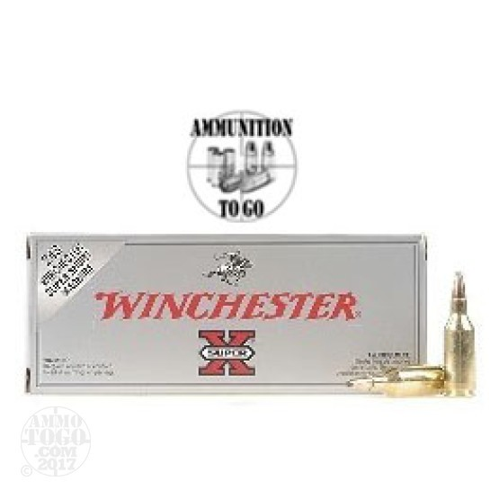 20rds - 243 Winchester Super Short Mag Super-X 100gr. Soft Point