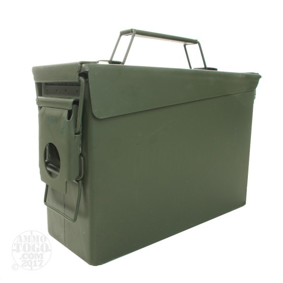 16 - 30 Cal M19 Mil Spec Brand New Green Ammo Can