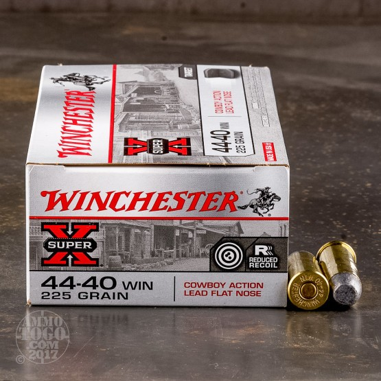 50rds - 44-40 Winchester Cowboy 225gr Lead