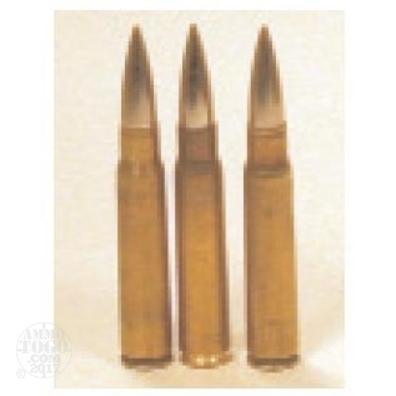 300rds - 8mm Mauser Czech Military 174gr. FMJ Ammo
