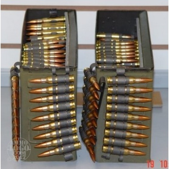 200rds - .308 / 7.62 NATO Radway Green Linked 4 Ball to 1 Tracer