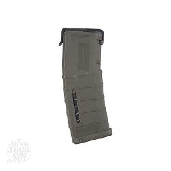 1 - Magpul PMAG AR15/M16 OD Green 30rd. Magazine with Mag Level Window