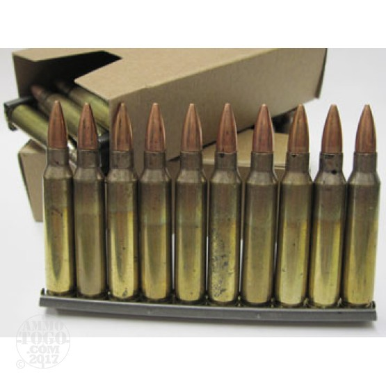 30rds - 5.56 Federal / LC XM193AF 55gr. FMJ Ammo on Strippers