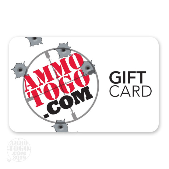 1 - $200.00 Ammunition To Go Gift Card