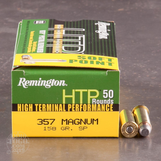 50rds – 357 Magnum Remington High Terminal Performance 158gr. SP Ammo