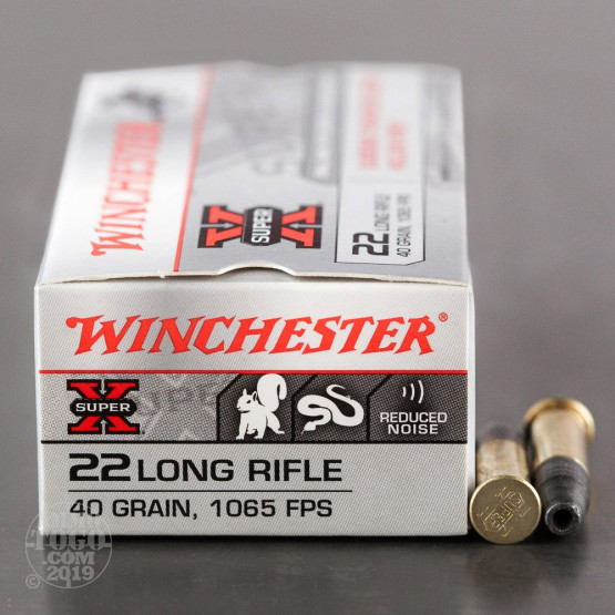 500rds - 22LR Winchester 40gr Subsonic Lead Hollow Point Ammo