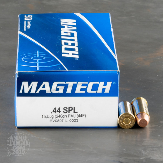 50rds – 44 Special Magtech 240gr. FMJ Ammo