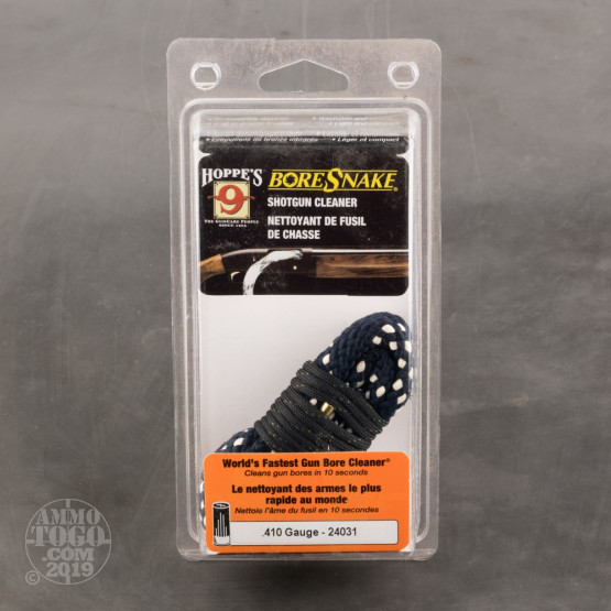 1 - Hoppe's Gun Cleaning BoreSnake - 410 Bore