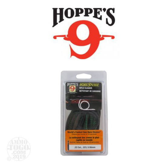 1 - Hoppe's 9 Bore Snake .22 Cal Rifle Bore Cleaner
