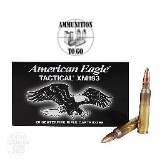 5.56x45 Federal XM193 Ammo In Stock