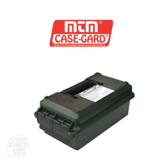 1 - MTM 30 Cal Size Ammo Can - Green w/ Dessicant
