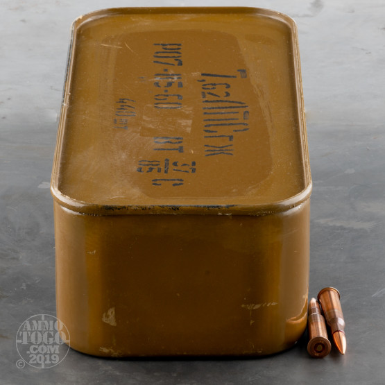 440rds - 7.62x54R Original Russian Military 148gr. FMJ Ammo Spam Can