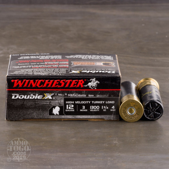 "10rds - 12 Gauge Winchester Supreme 3""  1 3/4oz.  #4 Turkey Load"