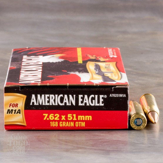 20rds - 308 Win. (7.62x51) Federal 168gr. OTM Ammo