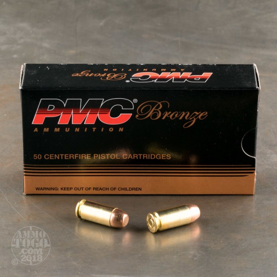 300rds - 40 S&W PMC 165gr. FMJ-FP Sealed Battle Pack Ammo