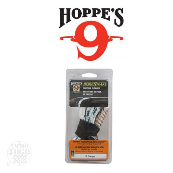 1 - Hoppe's 9 Bore Snake 12 Gauge Shotgun Bore Cleaner