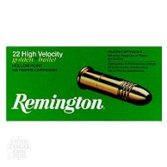 400rds - 22LR Remington 36gr. Golden Bullet Hollow Point Ammo