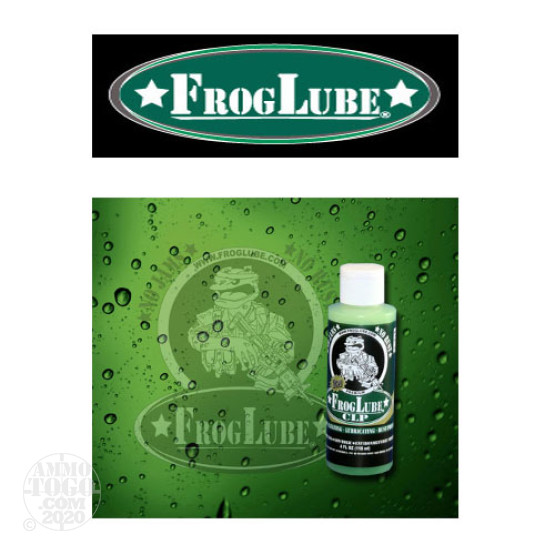 1 - FrogLube CLP Liquid 4oz. Bottle Lube, Cleaner, and Protectant