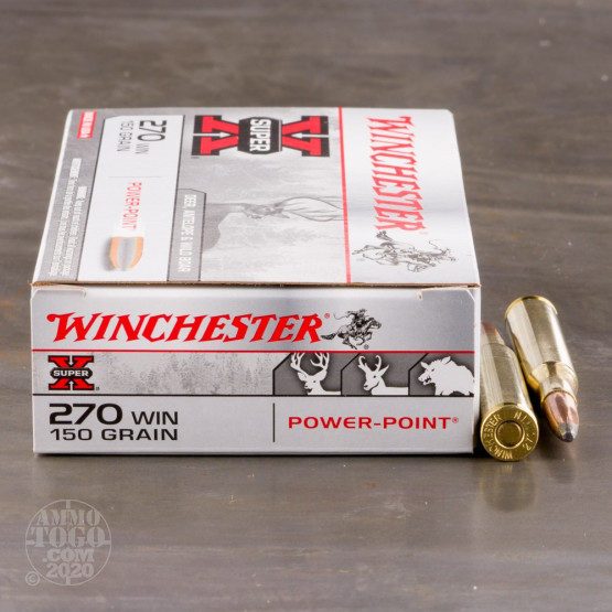 20rds - 270 Winchester 150gr. Super-X Power-Point Ammo