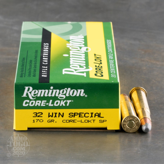 20rds - 32 Win Spec Remington 170gr. Core-Lokt Soft Point Ammo