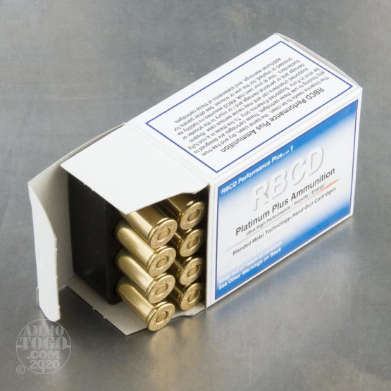 20rds - 44 Mag RBCD Performance Plus 110gr. Total Fragmenting Soft Point Ammo