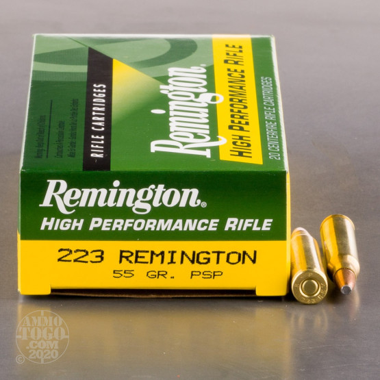 200rds - .223 Remington Express 55gr. Pointed Soft Point Ammo
