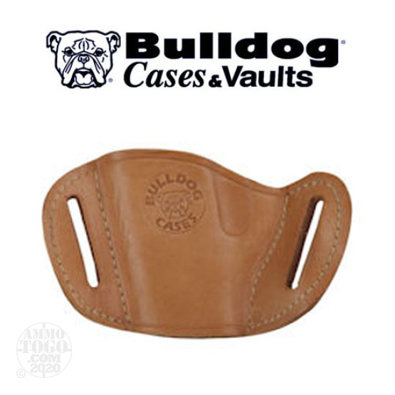 1 - Bulldog Tan Leather Holster Large