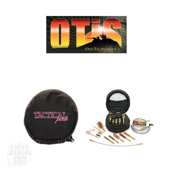 1 - Otis Tactical Pink Cleaning System .17 to 12/10 Gauge