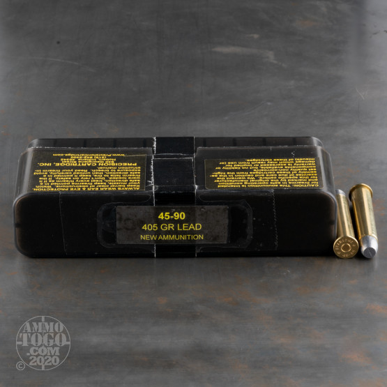20rds - 45-90 WCF PCI 405gr. RNFP Ammo