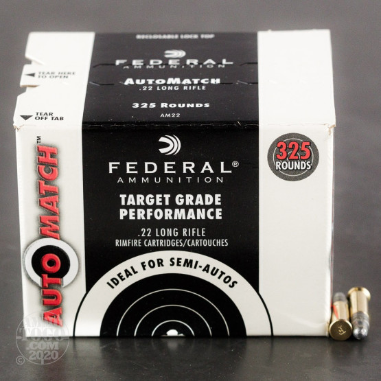 3250rds – 22 LR Federal Champion Training 40gr. LRN Ammo
