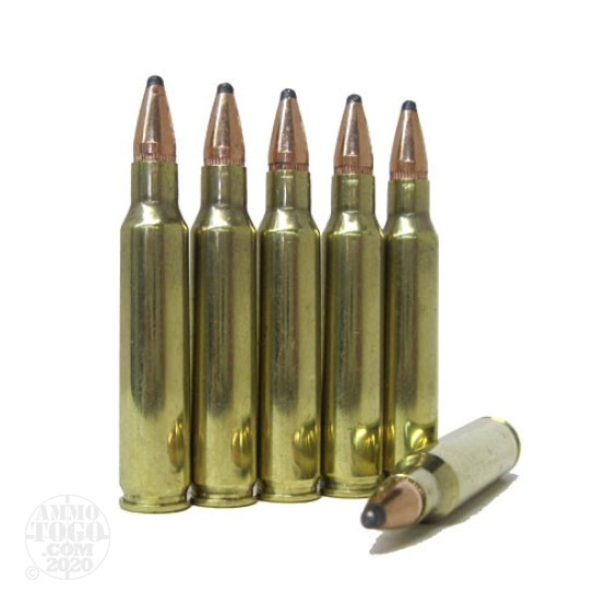 500rds - .223 DRS 55gr. Soft Point Ammo Once Fired Brass