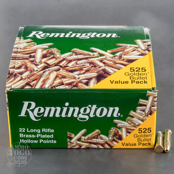 6300rds – 22 LR Remington Golden Bullet 36gr. HP Ammo